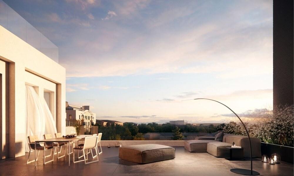 Квартиры с террасами в ЖК Cloud Nine