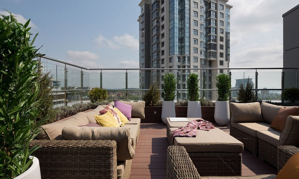ЖК HILL8 квартиры с террасами