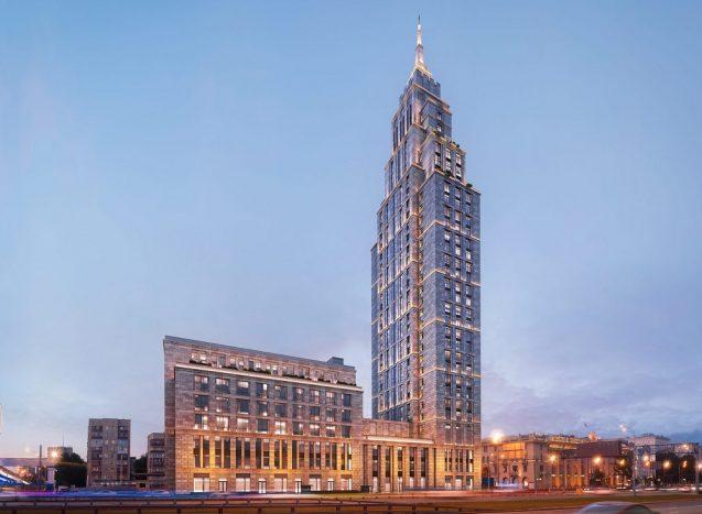 ЖК Alcon Tower в Москве