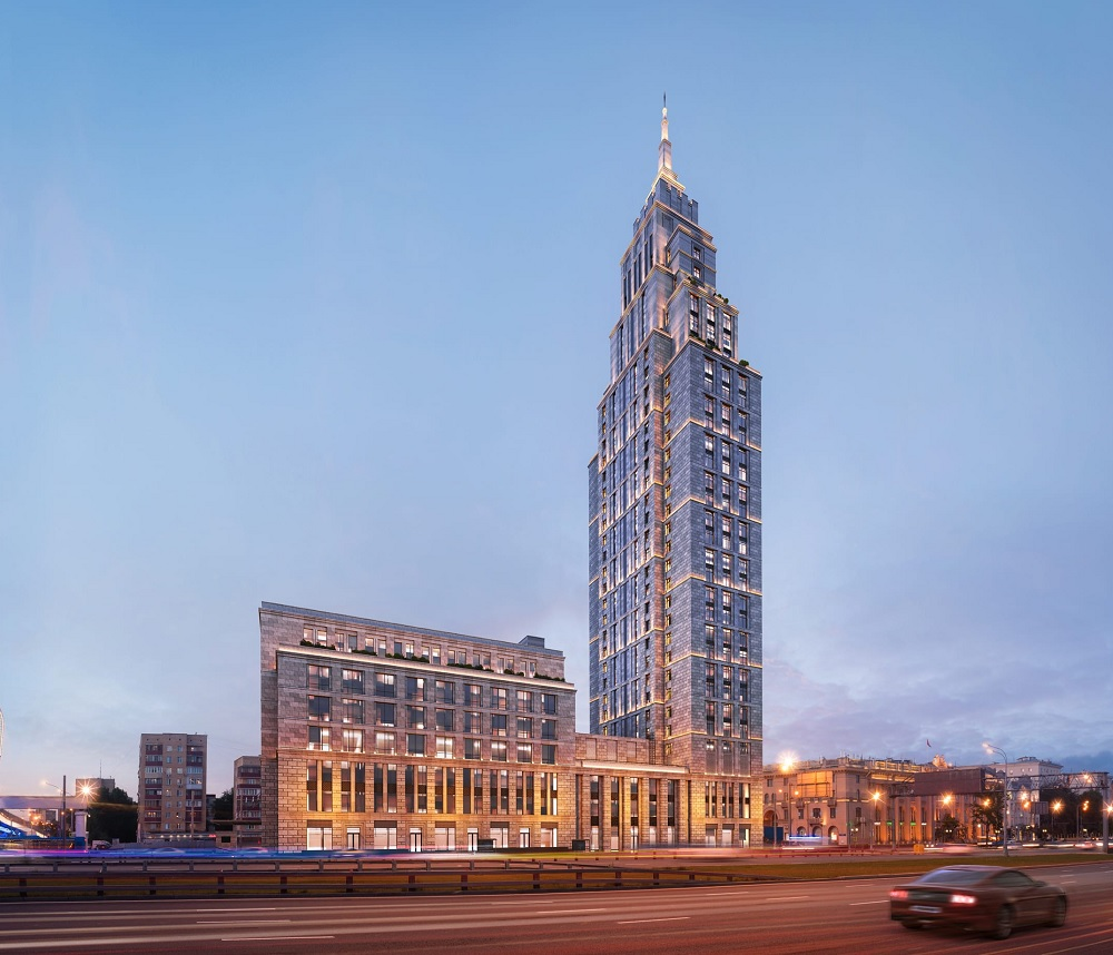 ЖК Alcon Tower в Москве